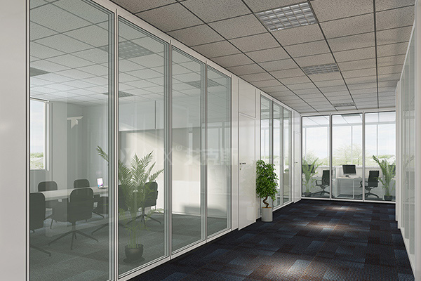Kang Enbei Pharmaceutical Double Glass Partition